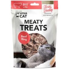 Prima Cat Deluxe Beef Ring - деликатесно лакомство телешки кръгчета 30 гр
