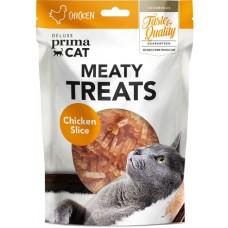 Prima Cat Deluxe Chicken Slice - деликатесно лакомство пилешки парченца 30 гр