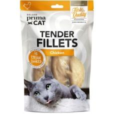 Prima Cat Deluxe Tender Chicken Fillets - деликатесно лакомство пилешки филенца 60 гр