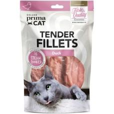 Prima Cat Deluxe Tender Duck Fillets - деликатесно лакомство патешки филенца 60 гр