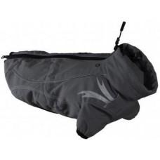 Hurtta FROST JACKET - за максимална свобода на движението, гръб 25 см - цвят Гранит 931057