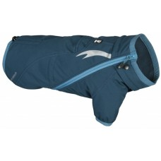 Hurtta CHILL STOPPER - яке за максимална изолация от студа и вятъра, гръб 65 см, цвят Хвойна / Син 932447