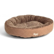 Agui Mountain Donut Bed - луксозно меко легло - КАФЯВО - 53 x 53 x 10 см, Португалия - AG10057