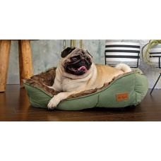 Agui Furry Bed - ЗЕЛЕНО меко легло 47 х 37 х 17 см, Португалия AG10196