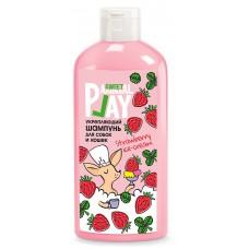Animal Play Sweet Shampoo Strawberry Ice Cream Укрепващ шампоан, за кучета и котки, 300 мл - Русия, AP05-00920