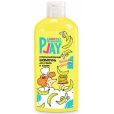 Animal Play Sweet Shampoo Banana Pancake Хипоалергенен шампоан за кучета и котки, 300 мл - Русия, AP05-00970