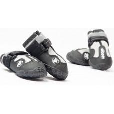 Alcott Adventure Boots - кучешки ботушки, черни със светлоотразителни детайли, размер L, дължина на стъпалото 8,3 см APLLG