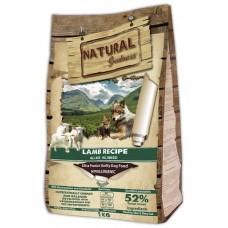 NATURAL Greatness Lamb Recipe Sensitive - рецепта с агне, за чувствителни кучета от всички възрасти и породи, бебета и пораснали 12 кг