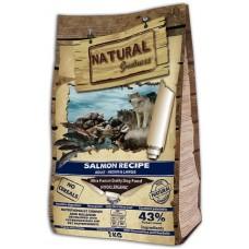 NATURAL Greatness Salmon Recipe Sensitive Adult Medium & Large - Рецепта Сьомга, за израстнали кучета от средни и големи породи 12кг