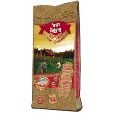 Farm Nature Puppy & Junior turckey, chicken and rice - храна за малки и растящи кученца, както и за техните майки, с пуйка, пиле и ориз 12,5 кг