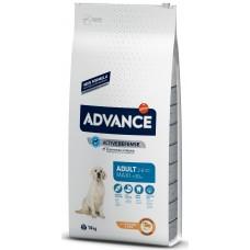 Advance Dog Maxi Adult - пиле и ориз, високачествена храна за пораснали кучета от едрите породи над 1 година, Испания - 14 кг