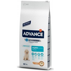 Advance Dog Maxi Puppy - пиле и ориз, високачествена храна за подрастващи кученца от едрите породи до 12 месеца, Испания - 12 кг