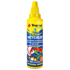 TROPICAL ANTYCHLOR – премахва хлора от водата 50 мл