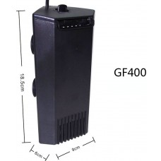 AQUA SYNCRO CORNER FILTER GF400 вътрешен филтър за аквариуми ъглов 360 литра / час 4W