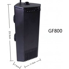 AQUA SYNCRO CORNER FILTER GF800 вътрешен филтър за аквариуми ъглов 820 литра / час 7W