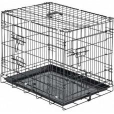ARTERO BLACK METAL CAGE - Метална сгъваема клетка за кучета 108х70,5х77,5 см, Испания B313
