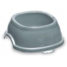 Break 1 - пластмасова купичка за храна или вода 17 х 17 х 6Н см, 400 мл, STEFANPLAST - Италия