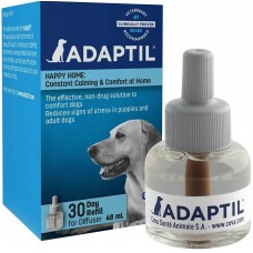 ADAPTIL Calm Пълнител за дифузер 48 мл - спокойстнвие и комфорт за Вашето куче, CEVA Франция - C1334OR