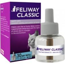 Feliway Classic Пълнител за дифузер - 48 мл - успокоява котката, срещу драскане и маркиране, CEVA - Франция - C23821V