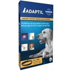 ADAPTIL Calm Нашийник, размер M-L, обиколка до 62,5 см, за кучета до 50 кг - спокойстнвие и комфорт за Вашето куче, CEVA Франция - C66450Q