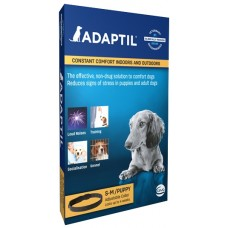 ADAPTIL Calm Нашийник, размер S-М, обиколка до 37,5 см, за кучета до 15 кг - спокойстнвие и комфорт за Вашето куче, CEVA Франция - C66460Q