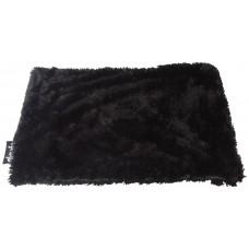 Gloria Baby S - мека постелка 60 х 40 см - черно