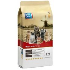 CAROCROC CAT LAMB - храна за пораснали котки от всички породи, с агнешко и пилешко месо, Холандия - 0,4 кг