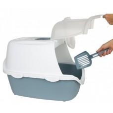 CATHY Easy Clean - Закрита Котешка Тоалетна с активен въглен - 56х40х40H см, STEFANPLAST Италия