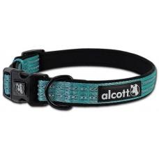 Alcott Adventure collar - нашийник за куче Адвенчър, син, размер L: 45-65 см обикока, ширина на лентата: 2,5 см - CLLGBL