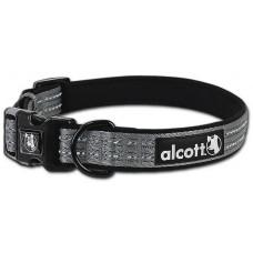 Alcott Adventure collar - нашийник за куче Адвенчър, сив, размер L: 45-65 см обикока, ширина на лентата: 2,5 см - CLLGGR