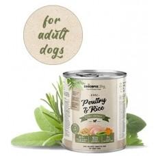 Chicopee Adult Poultry With Rice консерва за куче с 87,7% пресен микс от месо и птичи бульон - 400 гр, Германия