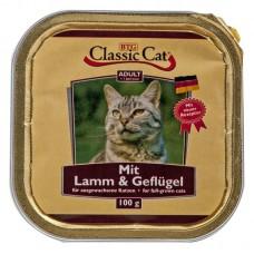 Classic Cat Adult - пастет за котки с Агне и Пиле, 100 гр Германия