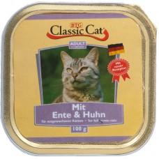 Classic Cat Adult - пастет за котки с Патица и Пиле, 100 гр Германия