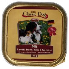 Classic Dog Adult - пастет за кучета с Агне, Пиле, Ориз и Зеленчуци, 150 гр Германия