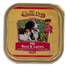 Classic Dog Adult - пастет за кучета с Говеждо и Агнешко месо, 150 гр Германия