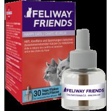 Feliway Friends Пълнител за дифузер - 48 мл - намалява конфликтите между котките, живеещи заедно, CEVA - Франция - D89420I