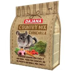DAJANA Country mix Chinchilla, пълноценна храна за чинчили - 500 гр DP403J