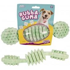 Гумени грачки Pet Brands Rubba-Guma - Играчка за дъвчене, размер L 4x4x21 cm, Англия DT464