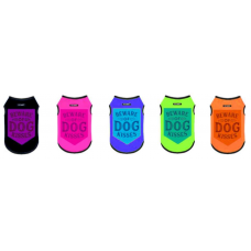 DUBEX Тениска BEWARE OF DOG KISSES - размер 1 дължина на гърба 23-27 см, Турция - 51659