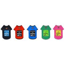 DUBEX Тениска STOP TEXTING AND FEED ME - размер 1 дължина на гърба 23-27 см, Турция - 51654