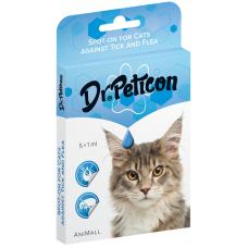 Dr. Peticon Spot on Cat - BIO противопаразитни пипети 1 ml - BIO продукт Унгария 41088