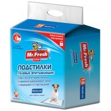 Mr.Fresh Regular хигиенна подложка, за кучета и котки - 90х60 - 16 бр, Русия F503
