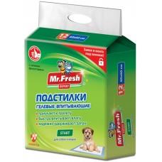 Mr.Fresh Start хигиенна подложка с атрактант, за кучета и котки - 60х60 - 12 бр, Русия F505