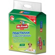 Mr.Fresh Start хигиенна подложка с атрактант, за кучета и котки - 90х60 - 8 бр, Русия F506