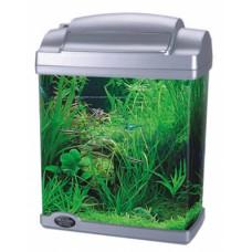 Аквариум Hailea FC200 4,8 литра, с осветление и дънен филтър 21 х 14 х 28 см