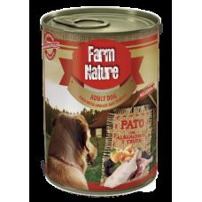 Farm Nature GRAIN FREE - Консерва за куче с патица, кайсии и трюфели 400 гр