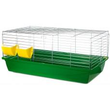 Inter-zoo RABBIT 100 ZINC FOLDING - Клетка за зайци, цинк 100 х 55 х 42 см, Полша - G080