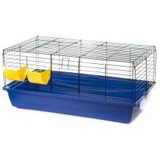 Inter-zoo RABBIT 100 COLOUR FOLDING - Клетка за зайци, черна решетка 100 х 55 х 42 см, Полша - G084