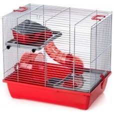 Inter-zoo GINO 1 ZINC - Клетка за малки гризачи оборудвана 42х29х38 см, Полша - G104Н