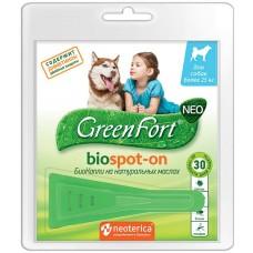 GreenFort neo BioSpot-on - натурални, противопаразитни капки за кучета с тегло над 25 кг, Русия G203